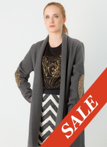 Sweter Grafit - SALE!