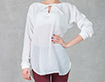 White Shirt with Lacing - SALE!