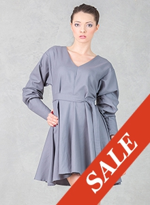 Robe Dress Grey - SALE!